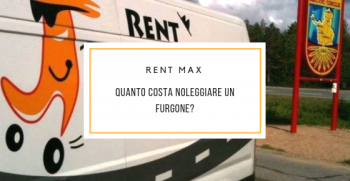 Quanto costa noleggiare un furgone?
