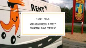 Noleggio furgoni a prezzi economici
