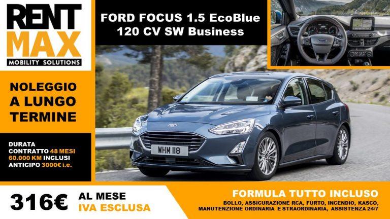 Rent max noleggio lungo termine ford focus